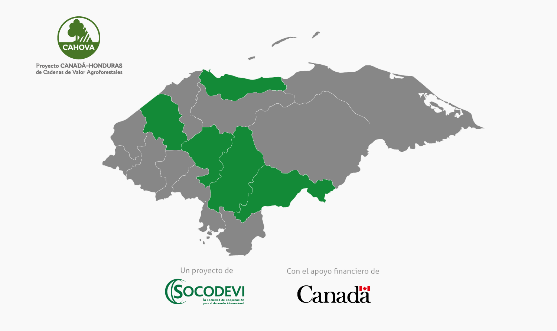 Regiones apoyadas