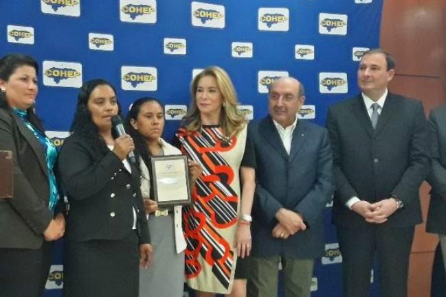 Premiación del COHEP a la Cooperativa Agroforestal Fronteras de Oriente Limitada